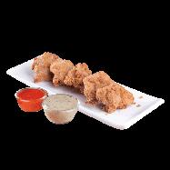 Crispy Chicken Bites (10 pcs - 4 dipping sauce)