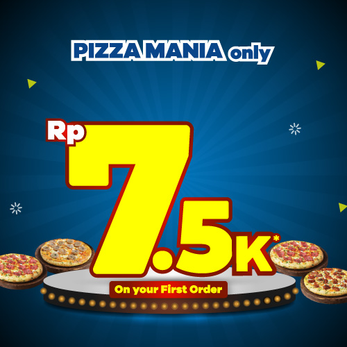 Pizza Mania Rp 7.500 Only